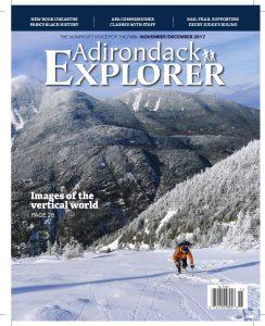 Winter Ascent of Colden Slide by Karen Stolz