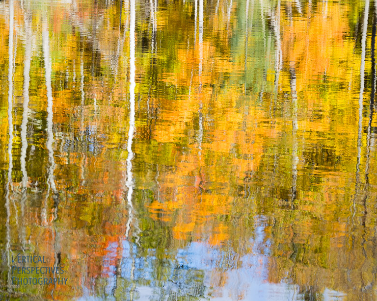 Fall Reflections - East Branch Ausable River