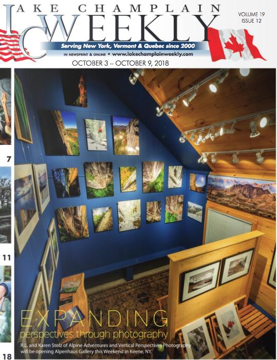 Lake Champlain Weekly Cover